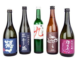 Tengu Sake brewery sake selection