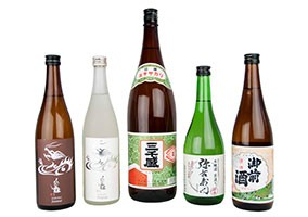 Tengu Sake easy drinking sake selection