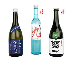 Tengu Sake nama sake selection