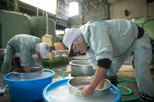Rice washing & soaking 1