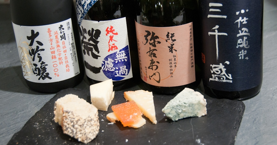 pairing sake with food isn't that tricky