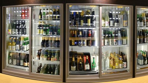 sake fridges