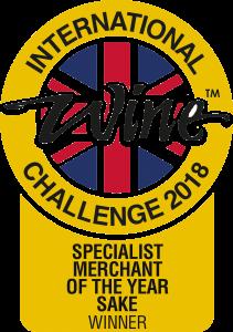 Tengu Sake IWC Sake Merchant of the Year 2018